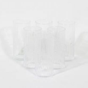 Iittala Mesi lasit, kirkas, 6 kpl, suunnittelija Tapio Wirkkala,