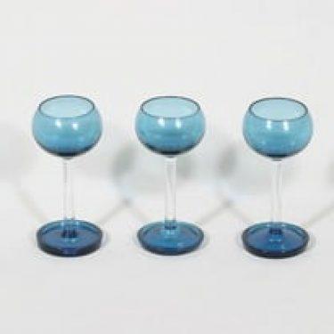 Riihimäen lasi Harlekiini liköörilasit, 3 cl, 3 kpl, suunnittelija Nanny Still, 3 cl, pieni