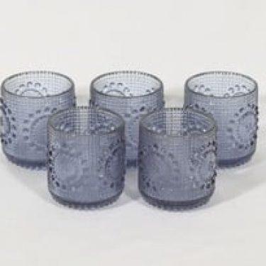 Riihimäen lasi Grapponia lasit, 16 cl, 5 kpl, suunnittelija Nanny Still, 16 cl