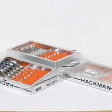 Hackman Colorina aterimet, 6 + 6 +6, suunnittelija Nanny Still, 6 + 6 +6