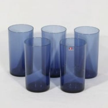 Iittala i-114 lasit, 25 cl, 5 kpl, suunnittelija Timo Sarpaneva, 25 cl