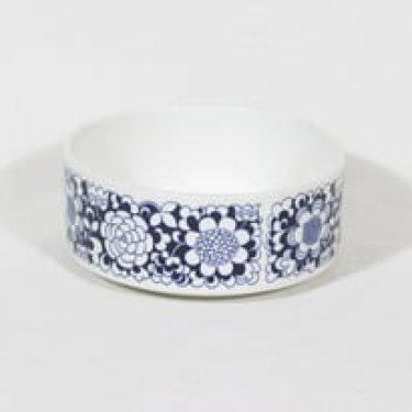 Arabia Gardenia kulho, sininen, suunnittelija Esteri Tomula, serikuva, retro