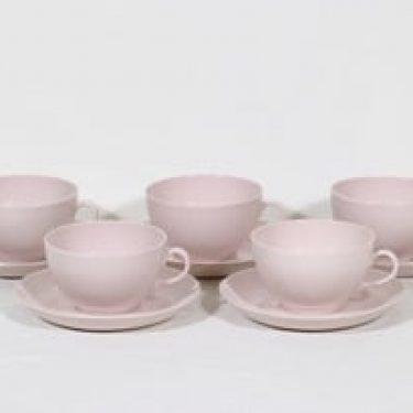 Arabia Sointu teekupit, 30 cl, 5 kpl, suunnittelija Kaj Franck, 30 cl
