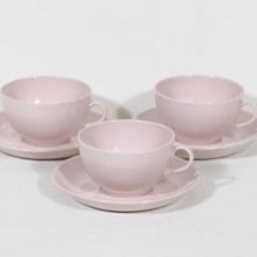 Arabia Sointu teekupit, 30 cl, 3 kpl, suunnittelija Kaj Franck, 30 cl
