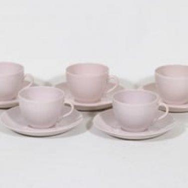 Arabia Sointu kahvikupit, 15 cl, 5 kpl, suunnittelija Kaj Franck, 15 cl