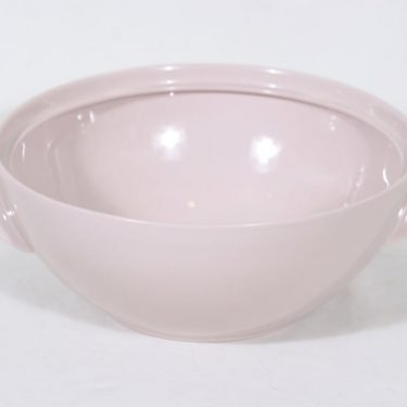 Arabia X bowl, pink, without decoration