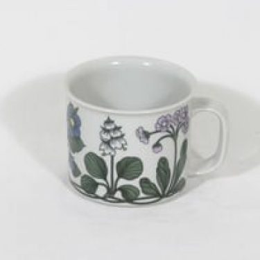 Arabia Flora muki, 40 cl, suunnittelija Esteri Tomula, 40 cl, serikuva