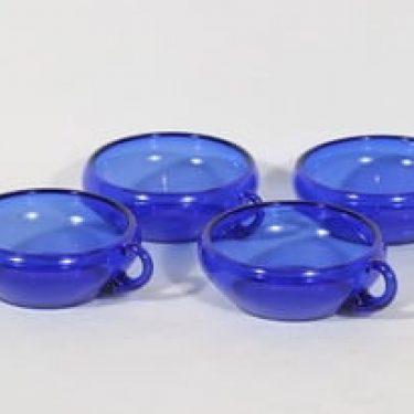 Kumela jälkiruokakulhot, sininen, 4 kpl, suunnittelija , pieni