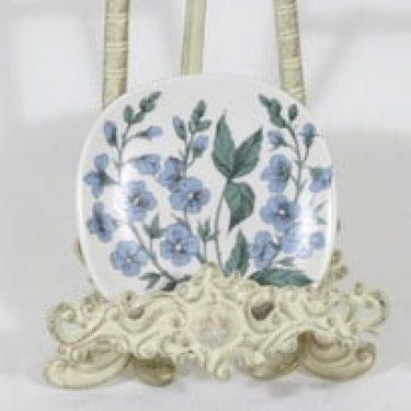 Arabia Botanica koristelautanen, Nurmitädyke, suunnittelija Esteri Tomula, Nurmitädyke, pieni, serikuva