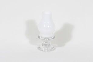 Iittala Pentteri kynttilälyhty, valkoinen|kirkas, suunnittelija Timo Sarpaneva, pieni