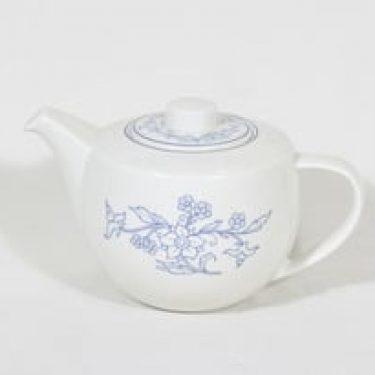 Arabia Sininen teekaadin, suunnittelija , painokoriste
