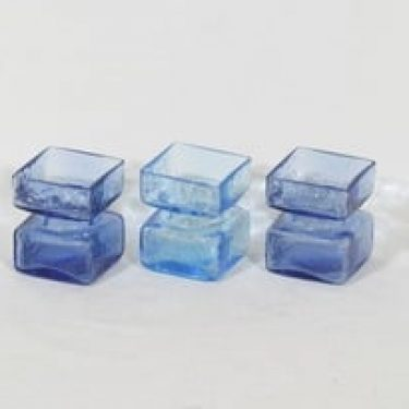 Riihimäen lasi Pala maljakot, koko ¼, 3 kpl, suunnittelija Helena Tynell, koko ¼, pieni