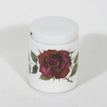Arabia Ruusu rasia, suunnittelija Anneli Qveflander, serikuva