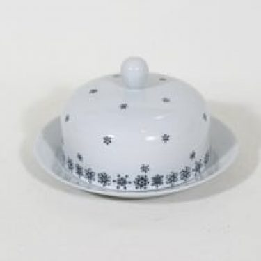 Arabia Snowflake voirasia, suunnittelija Raija Uosikkinen, painokoriste