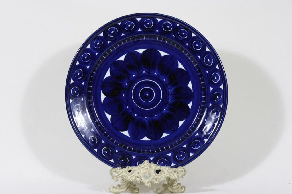 Arabia Valencia vati, käsinmaalattu, suunnittelija Ulla Procope, käsinmaalattu, suuri, signeerattu