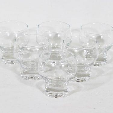 Iittala lasit, kirkas, 6 kpl, suunnittelija ,