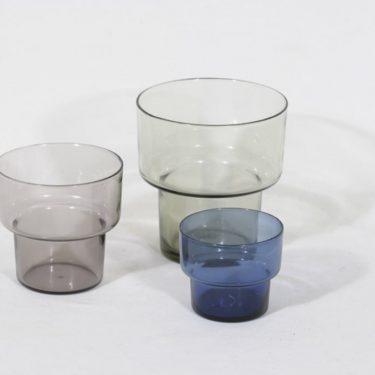 Iittala Viola maljakot, eri kokoja, 3 kpl, suunnittelija Lisa Johansson-Pape, eri kokoja