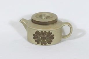 Arabia Tunturi teekaadin, 1.35 l, suunnittelija Olga Osol, 1.35 l, käsinmaalattu, signeerattu, retro