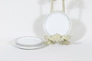 Arabia Seita lautaset, pieni, 7 kpl, suunnittelija Raija Uosikkinen, pieni, serikuva