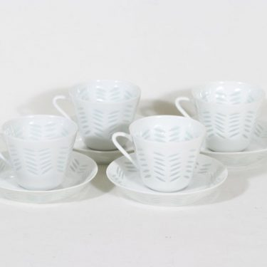Arabia FK/65 coffee cup, 15 cl, 4 pcs, Friedl Holzer-Kjellberg