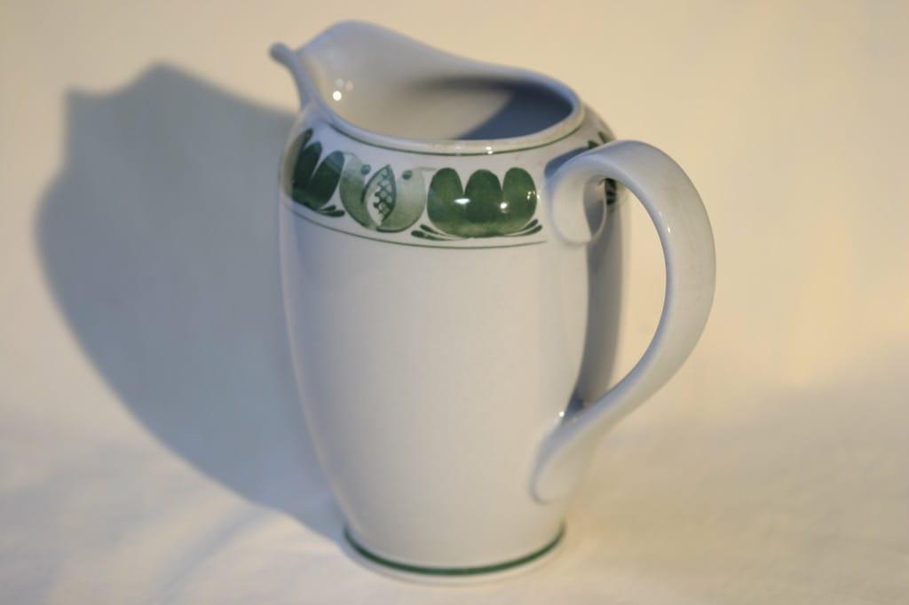 Arabia Green Laurel kaadin, käsinmaalattu, suunnittelija , käsinmaalattu