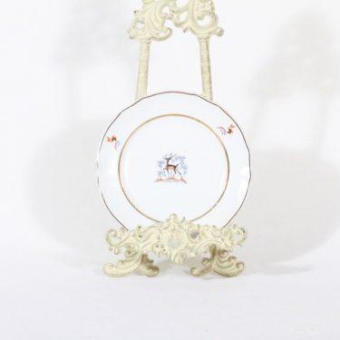 Arabia Kauris lautanen, pieni, suunnittelija Tyra Lungren, pieni, siirtokuva