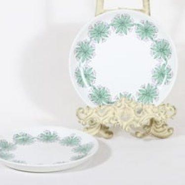 Arabia R lautaset, pieni, 2 kpl, suunnittelija , pieni, retro