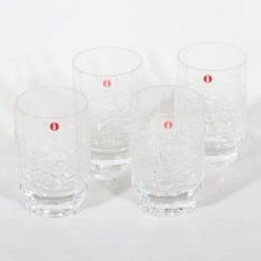 Iittala Kuusi lasit, 10 cl, 4 kpl, suunnittelija Jorma Vennola, 10 cl