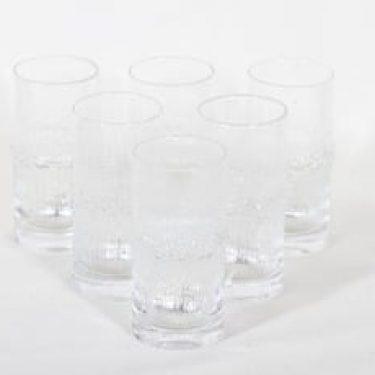 Iittala Niva lasit, 18 cl, 6 kpl, suunnittelija Tapio Wirkkala, 18 cl