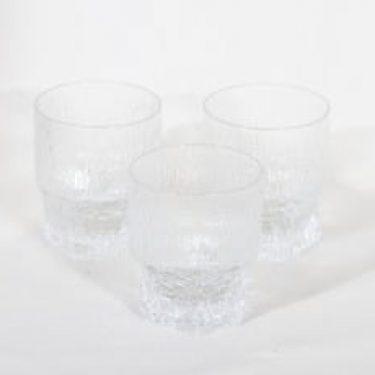 Iittala Aslak lasit, 20 cl, 3 kpl, suunnittelija Tapio Wirkkala, 20 cl