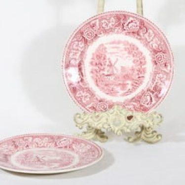Arabia Maisema lautaset, pieni, 2 kpl, suunnittelija , pieni, kuparipainokoriste