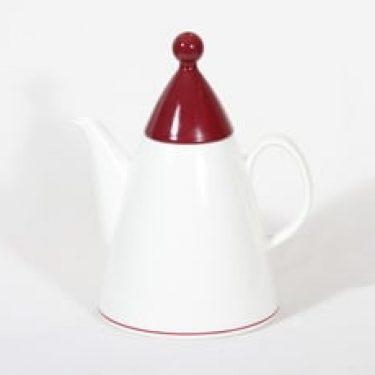 Arabia Harlekin kahvikaadin, Red hat, suunnittelija Inkeri Leivo, Red hat