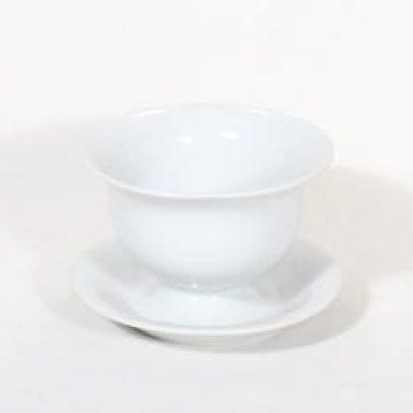 Arabia A kastikeastia, valkoinen, suunnittelija , koristelematon
