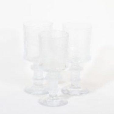 Iittala Festivo juhlalasi lasit, 40 cl, 3 kpl, suunnittelija Timo Sarpaneva, 40 cl