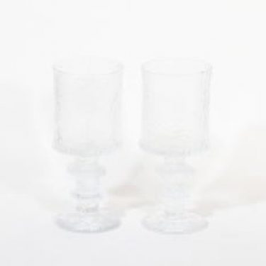 Iittala Festivo juhlalasi lasit, 40 cl, 2 kpl, suunnittelija Timo Sarpaneva, 40 cl
