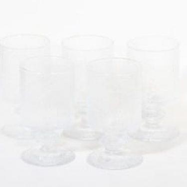 Iittala Festivo lasit, 30 cl, 5 kpl, suunnittelija Timo Sarpaneva, 30 cl