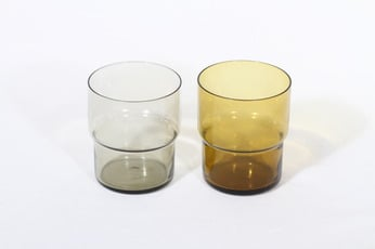 Nuutajärvi Pinottava lasi lasit, 25 cl, 2 kpl, suunnittelija Saara Hopea, 25 cl