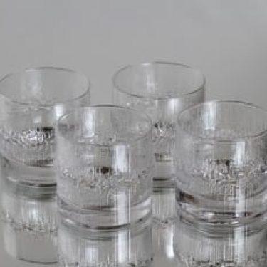 Iittala Niva lasit, 18 cl, 4 kpl, suunnittelija Tapio Wirkkala, 18 cl