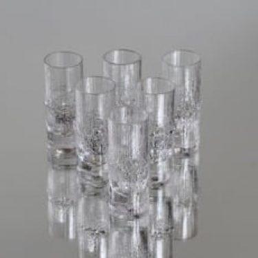 Iittala Niva lasit, 3 cl, 6 kpl, suunnittelija Tapio Wirkkala, 3 cl