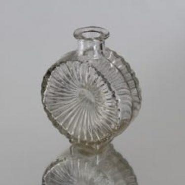 Riihimäen lasi Aurinkopullo koristepullo, koko ¼, suunnittelija Helena Tynell, koko ¼, pieni, sävy I