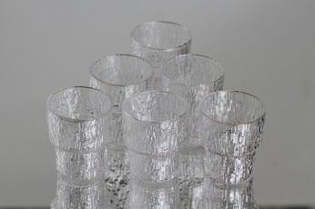 Iittala Paadar lasit, 6 cl, 6 kpl, suunnittelija Tapio Wirkkala, 6 cl, pieni