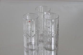 Iittala Mesi lasit, 33 cl, 3 kpl, suunnittelija Tapio Wirkkala, 33 cl