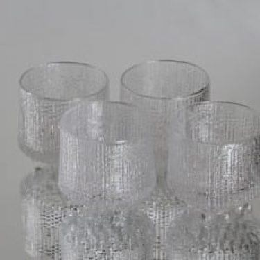 Iittala Ultima Thule lasit, 10 cl, 4 kpl, suunnittelija Tapio Wirkkala, 10 cl
