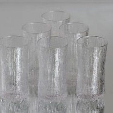 Iittala Ultima Thule lasit, 14 cl, 6 kpl, suunnittelija Tapio Wirkkala, 14 cl