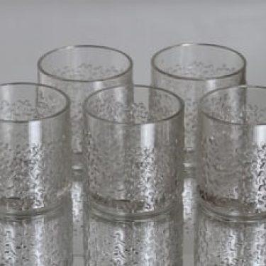 Riihimäen lasi Jesper lasit, 25 cl, 5 kpl, suunnittelija Erkkitapio Siiroinen, 25 cl