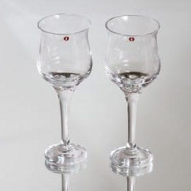 Iittala 2111 lasit, 20 cl, 2 kpl, suunnittelija Timo Sarpaneva, 20 cl