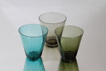 Nuutajärvi lasit, 18 cl, 3 kpl, suunnittelija Kaj Franck, 18 cl