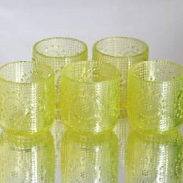 Riihimäen lasi 5065 lasit, 16 cl, 5 kpl, suunnittelija Nanny Still, 16 cl