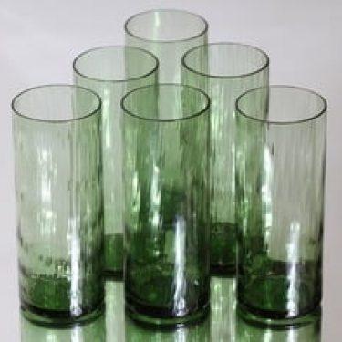 Riihimäen lasi 1038 lasit, 30 cl, 6 kpl, suunnittelija Nanny Still, 30 cl