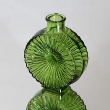 Riihimäen lasi Aurinkopullo koristepullo, koko ¼, suunnittelija Helena Tynell, koko ¼, pieni, sävy V